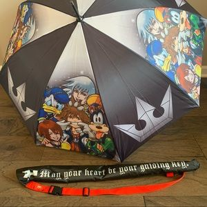 RARE Disney Kingdom Hearts Keyblade Umbrella